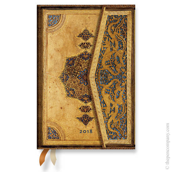 Mini Safavid 2018 Diary Horizontal Week-to-View - 1