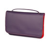 Mywalit Full Flap Multicomp Shoulder Clutch Bag Sangria Multi - 1