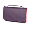 Mywalit Full Flap Multicomp Shoulder Clutch Bag Sangria Multi - 1