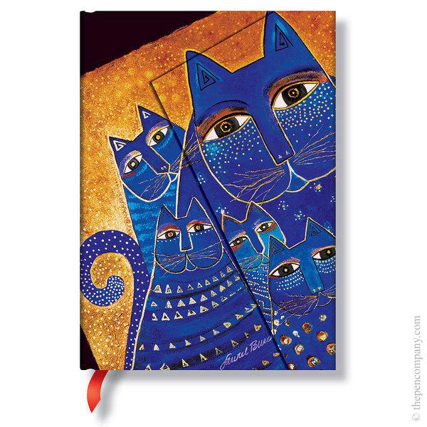 Midi Paperblanks Laurel Burch - Fantastic Felines Journal Mediterranean Cats Lined