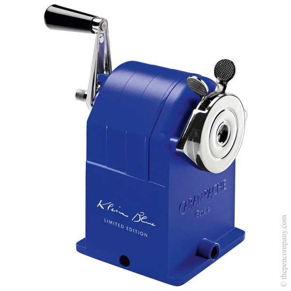 Caran d'Ache Metal Sharpening Machine Klein Blue