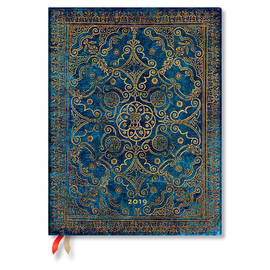 Ultra Paperblanks Equinoxe 2019 Diary Azure Day-to-View - 1