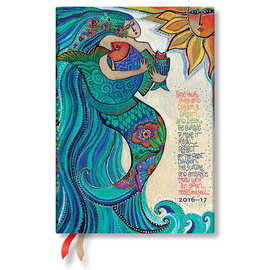 Paperblanks Ocean Song 2016-17 academic diary - 1