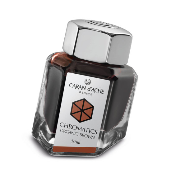 Caran d'Ache Chromatics Ink - Organic Brown - 1