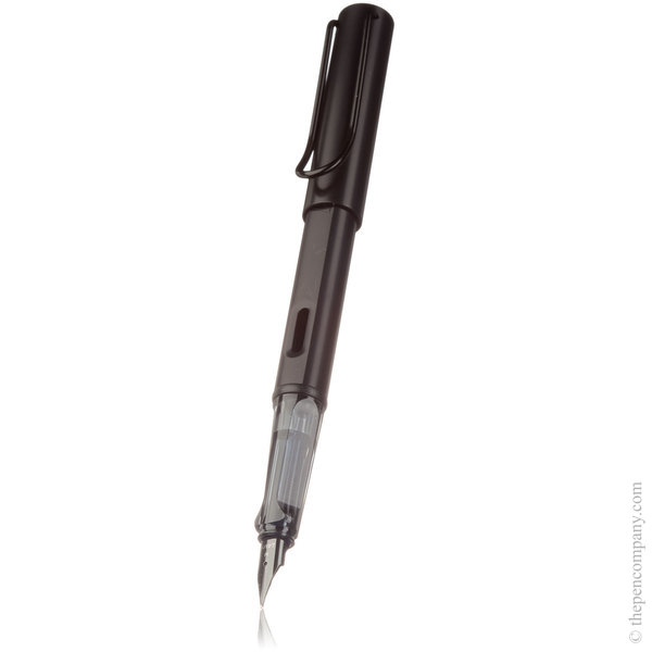 Black Lamy AL-star Fountain Pen Steel - Medium