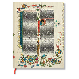 Lined Ultra Paperblanks Gutenberg Bible Parabole Journal - 1