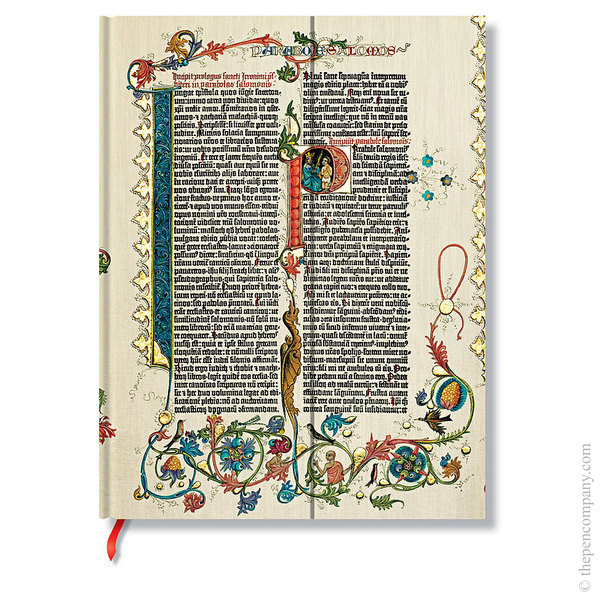 Ultra Paperblanks Gutenberg Bible Journal Journal Parabole Lined