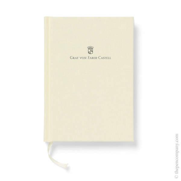 A6 Chamois Graf von Faber-Castell Linen Notebook Journal