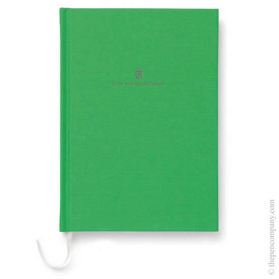 Viper Green A5 Graf von Faber-Castell Linen Notebook - 1