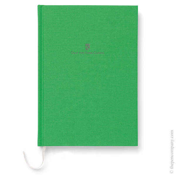A5 Viper Green Graf von Faber-Castell Linen Notebook Journal