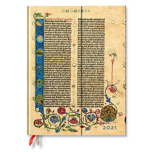 Paperblanks Genesis Gutenberg Bible 2021 Diary Ultra