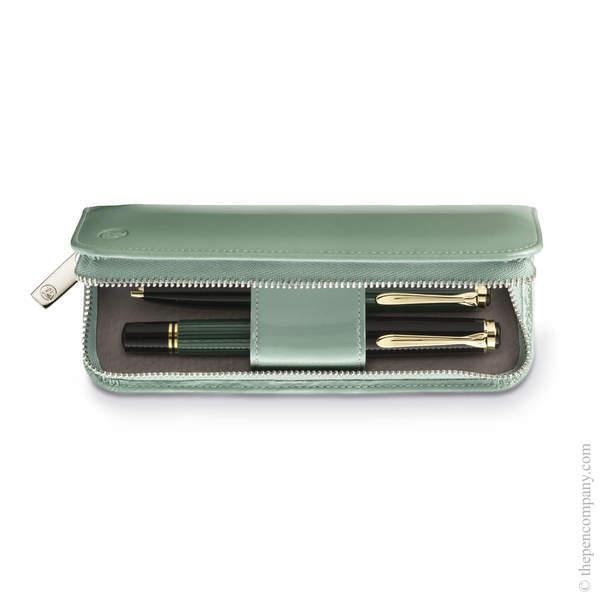 Green Pelikan Zip Pen Case