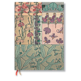 Paperblanks micro weekly Mucha snap dragon 2015 diary