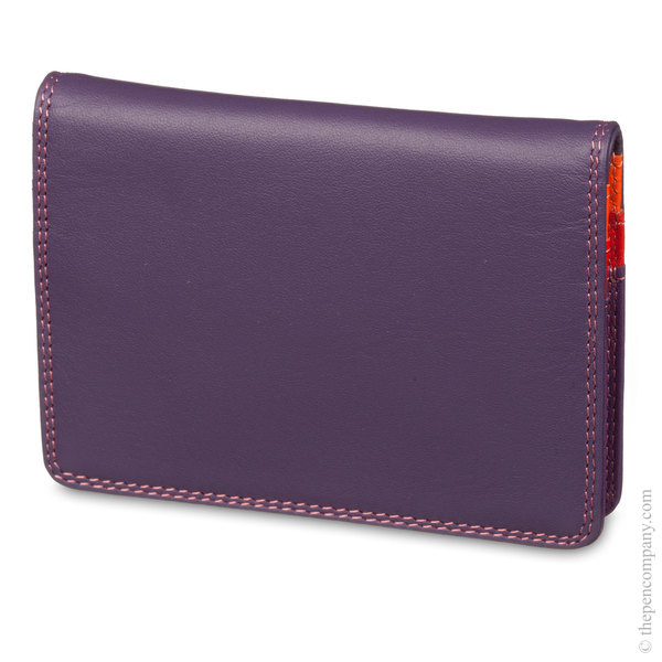 Sangria Multi Mywalit Credit Card Holder with Plastic Insert