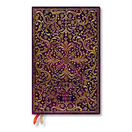 Maxi Paperblanks Aurelia 2019 Diary Vertical Week-to-View - 1