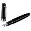 Sailor King Professional Gear Fountain Pen Black with Rhodium Trim - 2