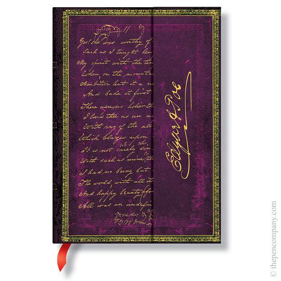 Lined Midi Paperblanks Poe, Tamerlane Journal - 1