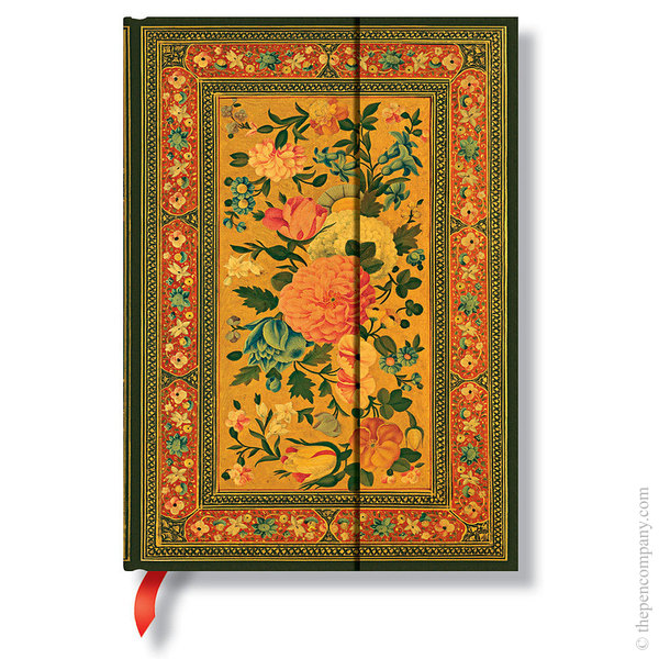 Midi Paperblanks Rose Garden Journal Journal Glowing Rose Lined