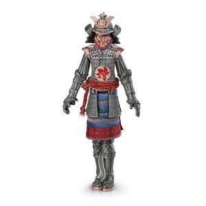 Montegrappa Samurai Fountain Pen Silver - 1