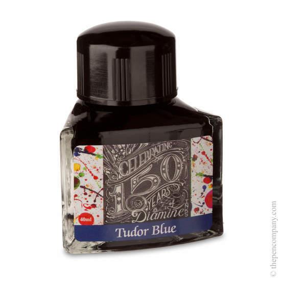 Tudor Blue Diamine 150th Anniversary Ink - 4