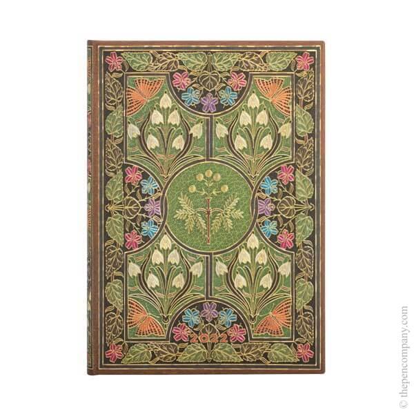Midi Paperblanks Poetry in Bloom 2022 Diary 2022 Diary Verso Week-to-View