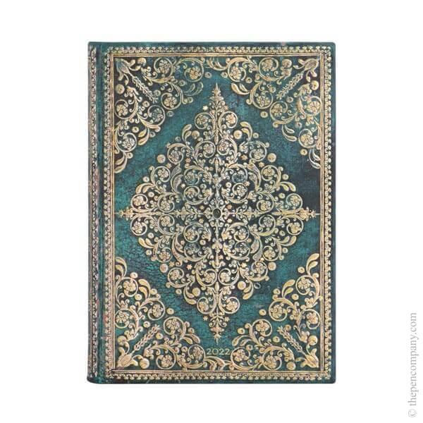 Midi Paperblanks Diamond Rosette 2022 Diary 2022 Diary