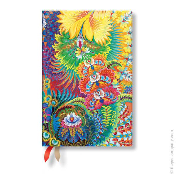 Mini Paperblanks Olenas Garden Flexi 2020 Diary