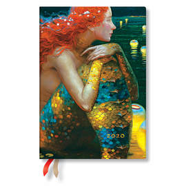 Midi Paperblanks Wonder & Imagination 2020 Diary Anticipation Horizontal Week-to-View - 1