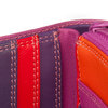 Mywalit Small Wallet with Zip-Around Purse Sangria Multi - 3