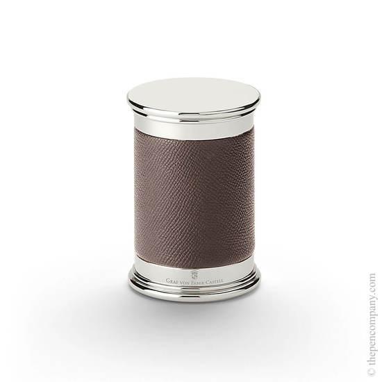 Dark Brown Graf von Faber-Castell Epsom Pencil Sharpener - 1