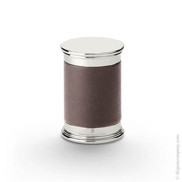 Dark Brown Graf von Faber-Castell Epsom Pencil Sharpener