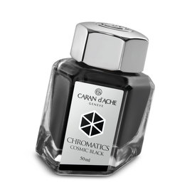 Caran d'Ache Chromatics Ink - Cosmic Black - 1