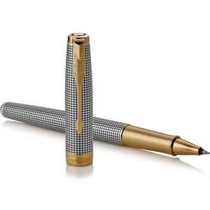 Parker Sonnet Deluxe Rollerball Pen Ciselé Silver - 1