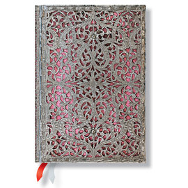 Paperblanks Blush Pink Silver Filigree 2015-16 academic diary - 4