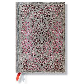 Paperblanks Blush Pink Silver Filigree 2015-16 academic diary - 4