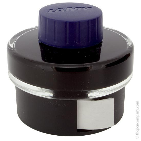 Lamy T52 Fountain Pen Ink Bottle 50ml Blue-Black - 1