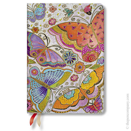 Midi Laurel Burch Flutterbyes 2018 Diary Horizontal Week-to-View - 1