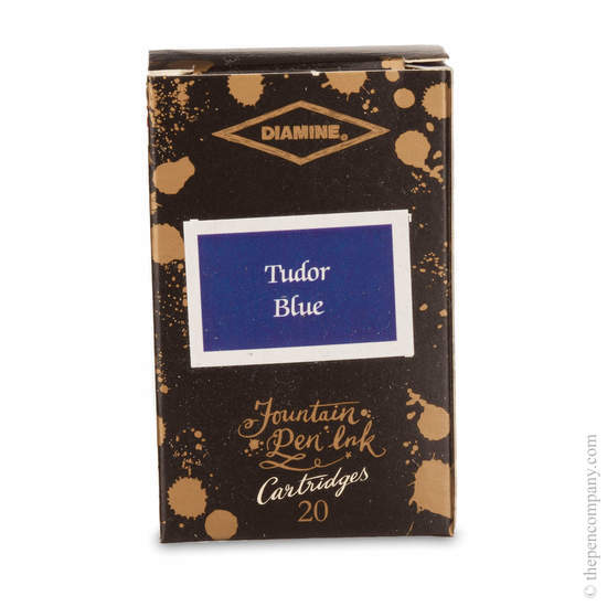 Tudor Blue Diamine 150th Anniversary Ink Cartridges - 1