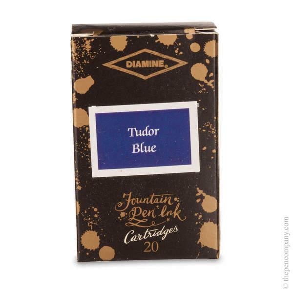 Tudor Blue Diamine 150th Anniversary Ink Cartridges Ink Cartridges