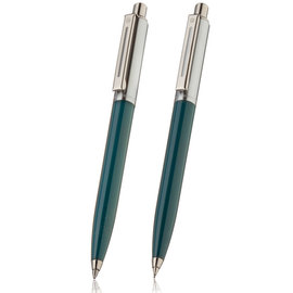 Sheaffer sentinel green ballpoint pen and pencil set - 1