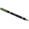 Tombow ABT brush pen 158 Dark Olive - 2