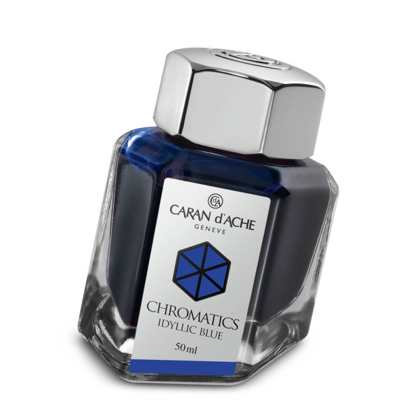 Idyllic Blue Caran d'Ache Bottled Chromatics