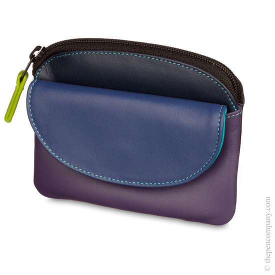 Mywalit Coin Purse with Flap Black Pace - 1