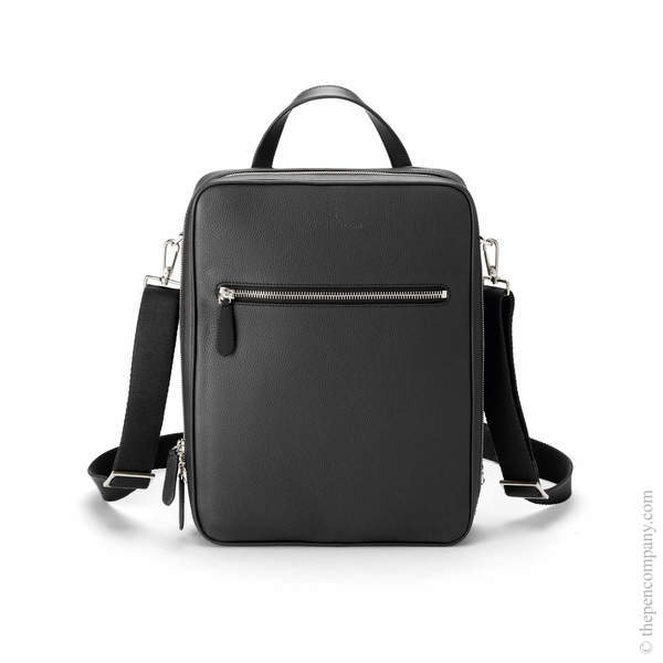Black Graf von Faber-Castell Cashmere Leather Backpack