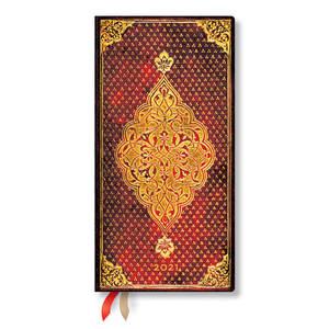Paperblanks Golden Trefoil Golden Trefoil 2021 Diary Slim