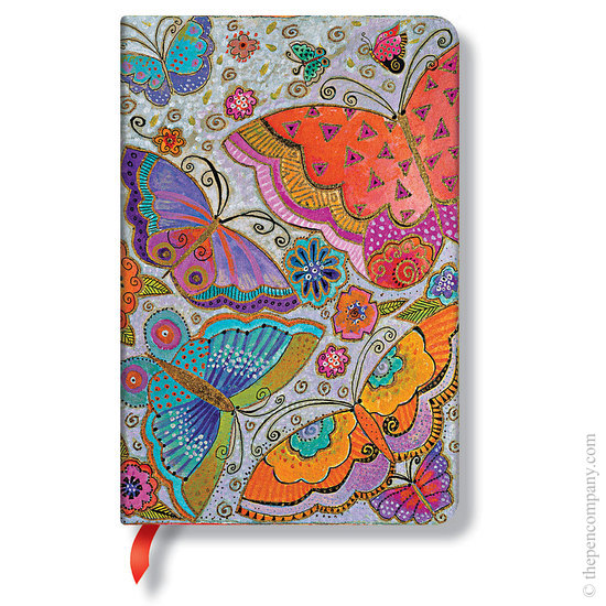 Lined Mini Paperblanks Flutterbyes Journal - 1