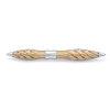 Jack Row Architect fountain pen Silver with Black Diamonds - 4