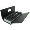 Lamy Accent Brilliant Cartridge Pen Black/Rhodium Rings Medium Nib - 1