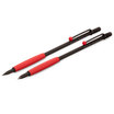 Tombow Zoom 707 ball pen and pencil set black with red trim - 3