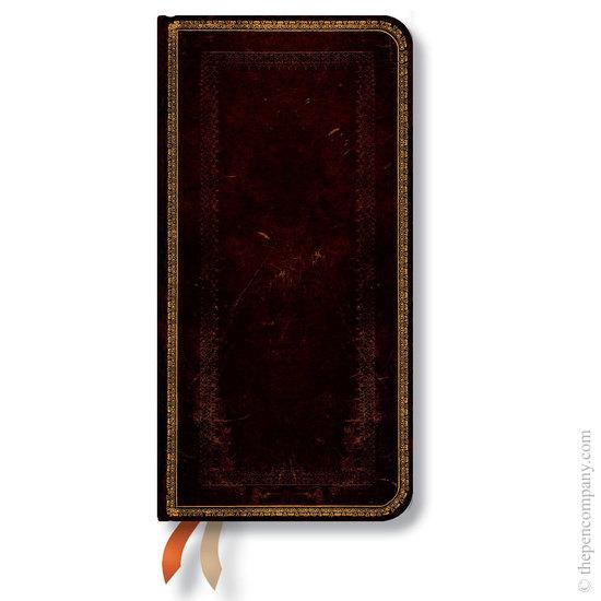 Paperblanks Black Moroccan Slim 2016 horizontal Diary - 1